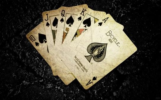 Cards Poker The Game Digital Art Ace Of Spades Card Game  #ace #blackace #aceofspades