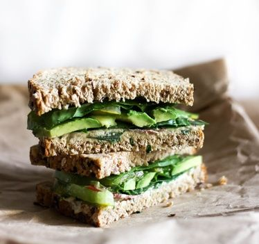 Mediterranean Sandwich Recipe | Recipes  #healthy #vegan