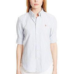 Custom-Fit Oxford Shirt