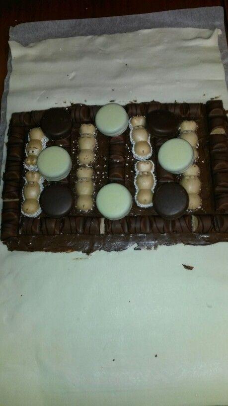 Relleno nutela chocolate kinder y galletas oreo