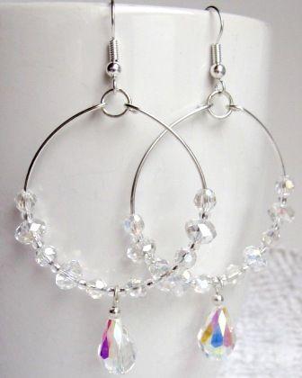 Handmade Hoop Earrings