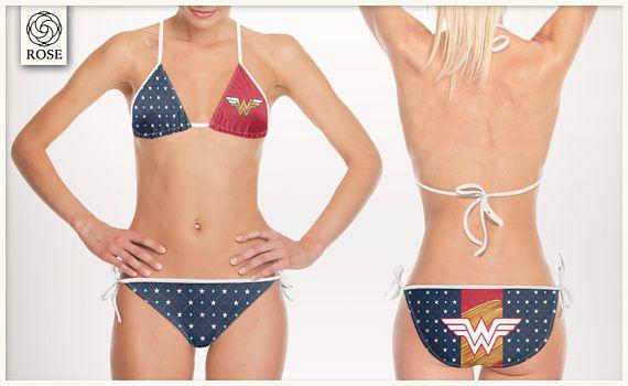 Costume da bagno Bikini Wonder Woman