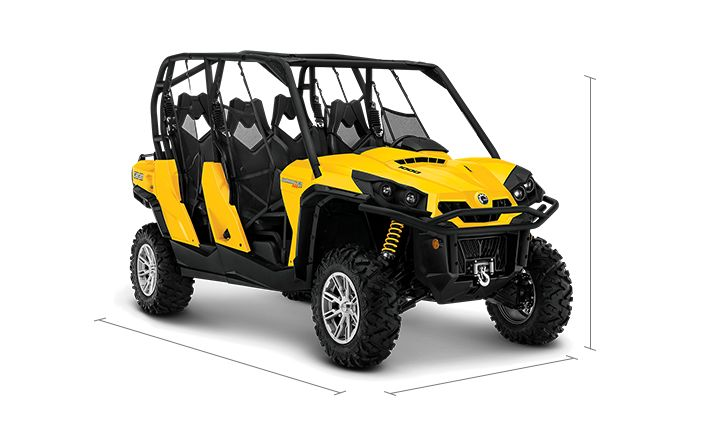 2014 canam commander max xt 4 seater side by side specs can am off road us. Black Bedroom Furniture Sets. Home Design Ideas