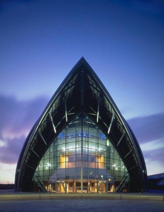 Famous Architects - Norman Foster - SECC Conference Centre – Glasgow #architecture ☮k☮