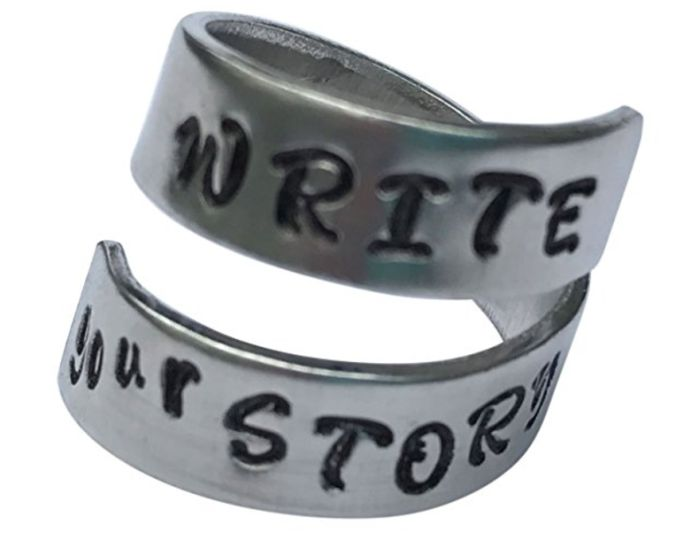 Write Your Story Spiral Ring