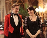 PBS Downtown Abbey on location at Highclere - poor Livinia Swire...