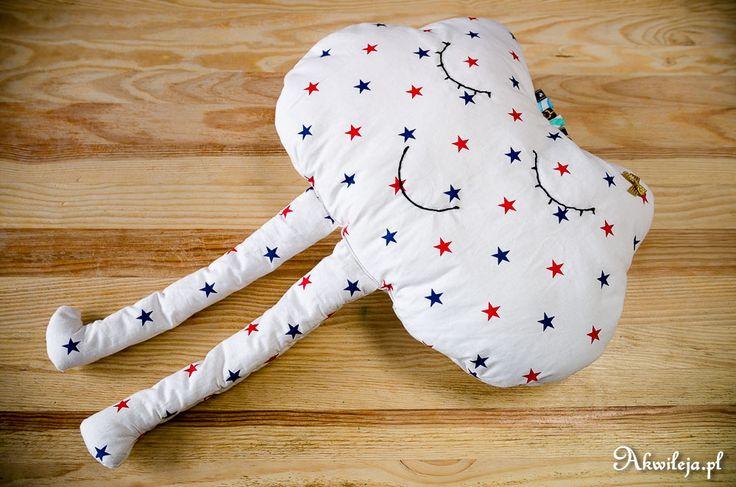 sewn mascot cloud