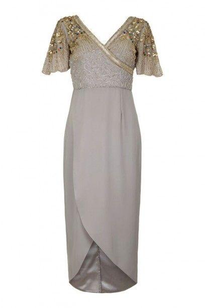 Virgos lounge Julisa Dress Grey , JULISADRESSGREY £85