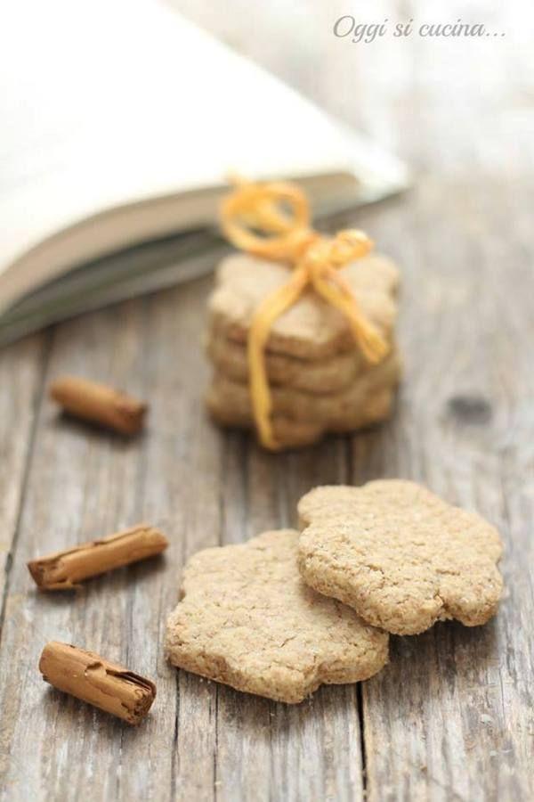 biscotti integrali cannella