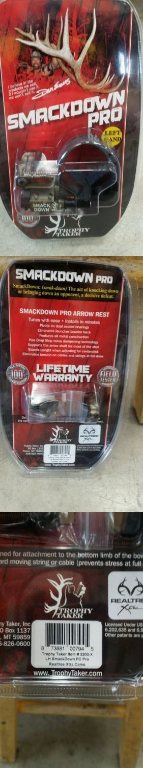 "Arrow Rests 36099: Trophy Taker Smackdown Fc Pro Left Hand Apx New In Package ->""></p> <p>Arrow Rests 36099: Trophy Taker Smackdown Fc Pro Left Hand Apx New In Package -></p> <p>Source: <a href="