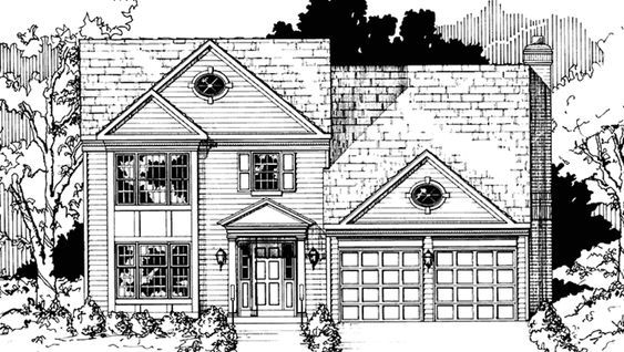 Colonial Front Elevation : Best colonial exterior ideas on pinterest
