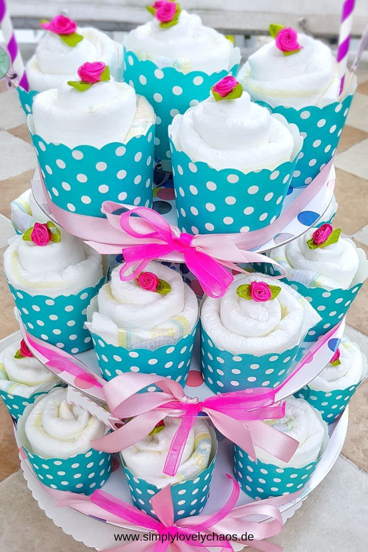Hallo Baby, Windel Cupcakes – Geschenk zur Geburt – SimplyLovelyChaos – Lifestyle, Familie, Rezepte, Bücher, DIY