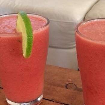 Recipe Watermelon, lime and mint frappe by Anikamiller - Recipe of category Drinks