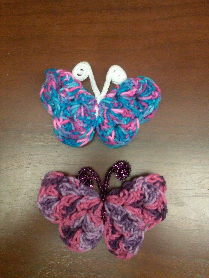 Crochet Hair Clip Ideas : ... clips, hair barrettes, etc. Craft Ideas Pinterest Crochet