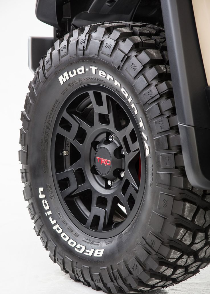 New Toyota TRD wheel just shown at SEMA 2012.