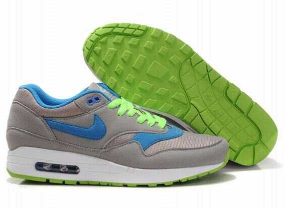 differently 7e6a2 f97af ... UK Market - Nike Air Max 1 Mens Blue Grassgreen Grey Trainers ...