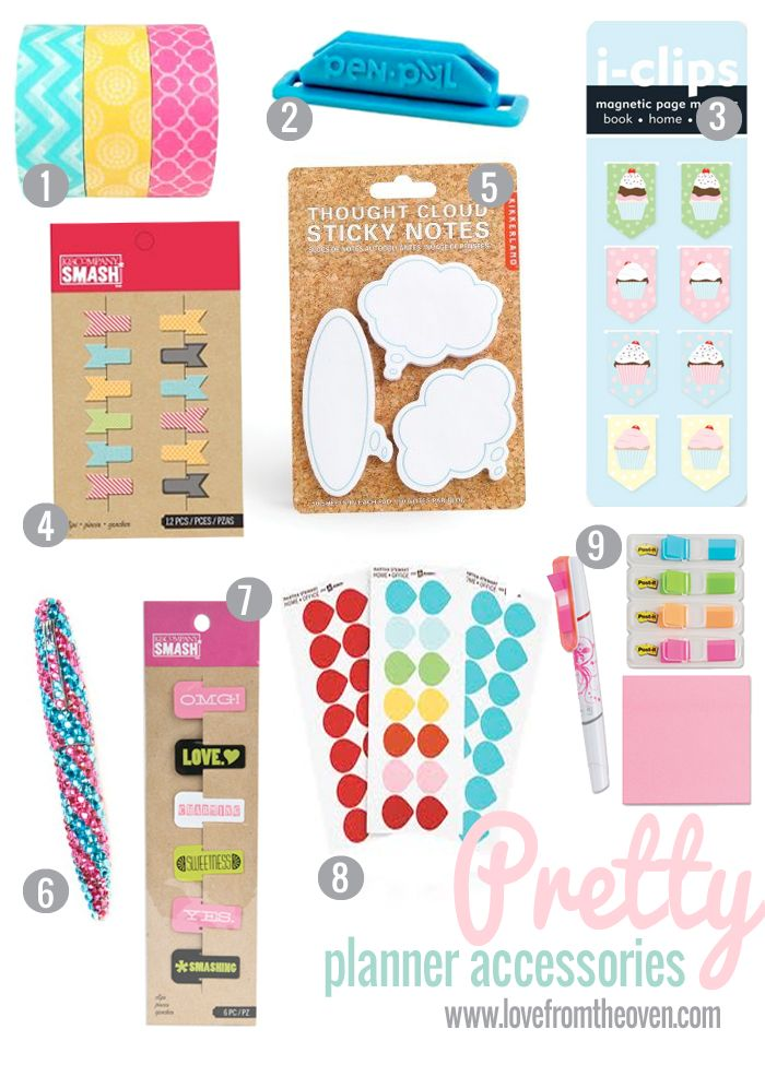 451 besten happy planners filofax sticky notes doo for Happy planner accessories