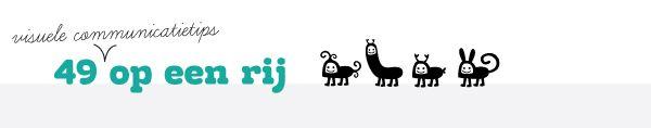 49 visuele communicatietips voor kleine ondernemers met grote ambities op een rij #StudioNeeltje