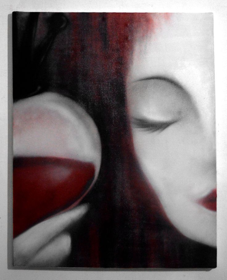 """""""Reina de Corazones"""" Bastidor de lienzo 100cmx70cm Pintura esmalte aerosol • Exposición y pintado en vivo en """"Apocalypse Wonderland"""" (El Escudo   La Plata)"""