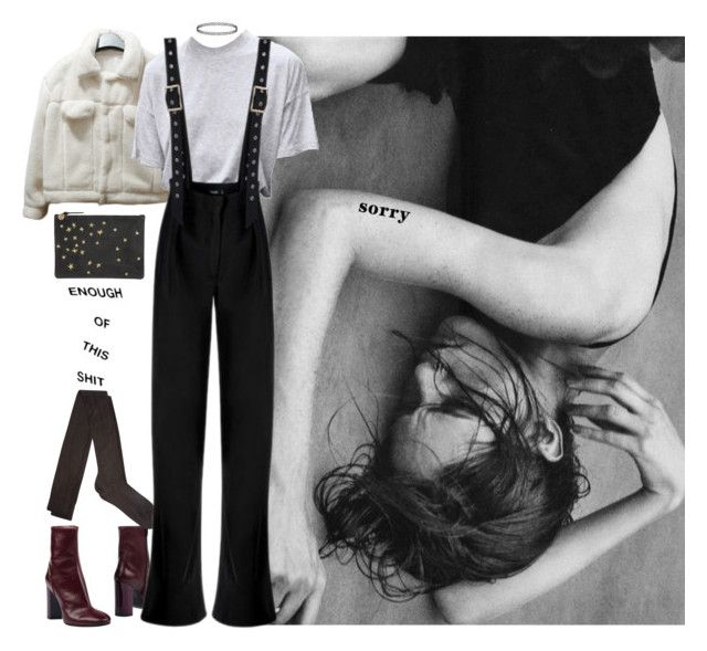 wrong side up by vesleku on Polyvore featuring Raey and Ottod'Ame