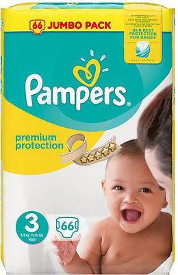 Pampers Premium Protection Size 3 Midi 5-9kg (66)