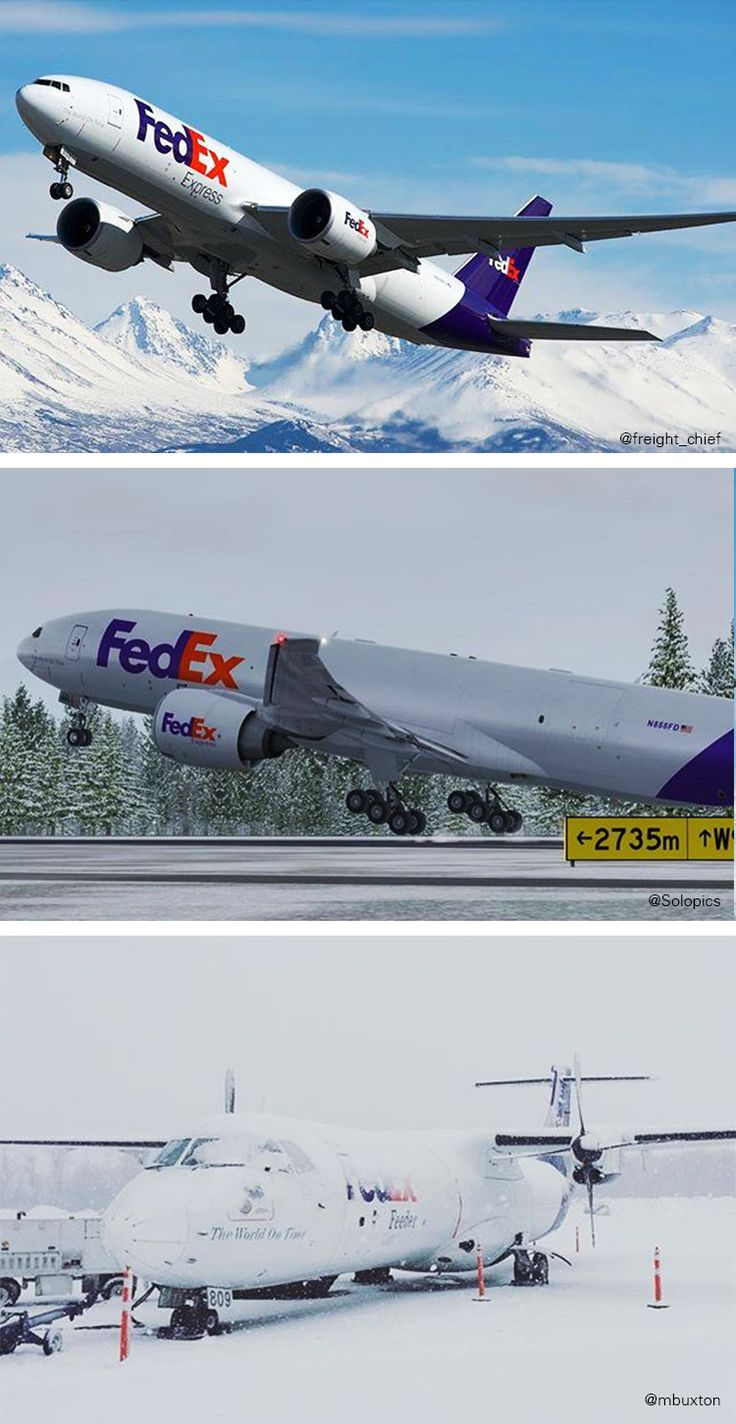 36 best FedEx Planes & Trucks images on Pinterest | Aircraft ...
