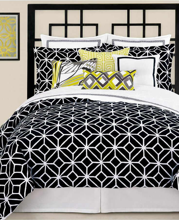 trina turk bedding trellis black comforter and duvet cover sets