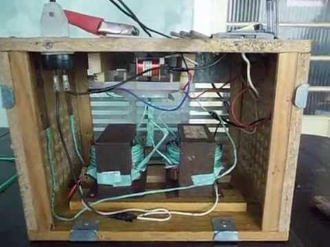 Como fazer Maquina de Solda Elétrica Caseira com Trafo de Microondas / E...