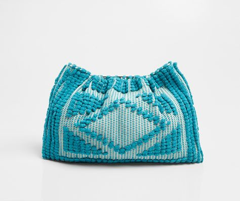 Crochet clutch - OYSHO