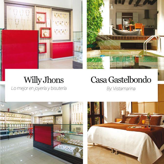 WILLY JHONS Lo mejor en joyería y bisutería  Casa Gastelbondo by Vistamarina  http://www.inkomoda.com/recomendados/