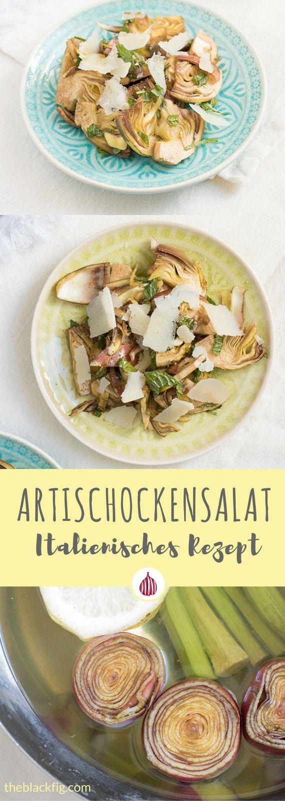 Italienisch essen. Heute mit Artischocken. Wie werden sie geputzt? Erfährst Du auf dem Blog! #italienischkochen #rezepte