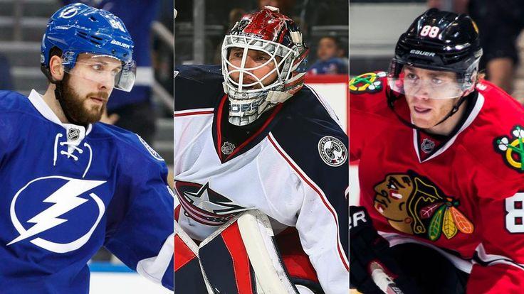 Nikita Kucherov named NHL Star of the Month  Lightning forward, Blue Jackets goalie Sergei Bobrovsky, Blackhawks forward Patrick Kane earn honors for March