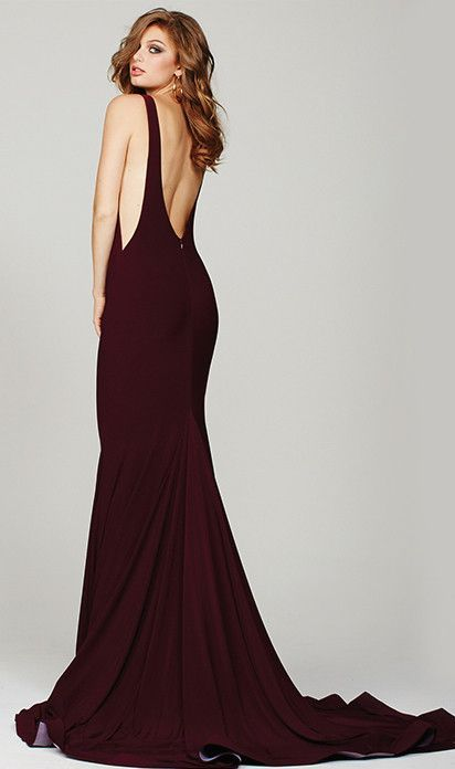 Jovani 37592 | Gowns, Low back and Jersey - photo #2