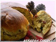 cafe de hera: Yılbaşı Ekmeği ( Christmas Bread )