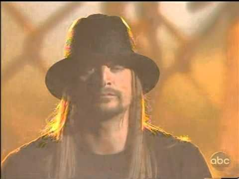 """Kid Rock Times Like These (Acoustic) AMA 2010 I ADORE the words in this song. I live in a small Texas town, but still we had 3 large plants here and as of now, 2 of those have closed down and things look pretty bad-but this is my hometown, and I will still be here when """"it"""" comes back around"""