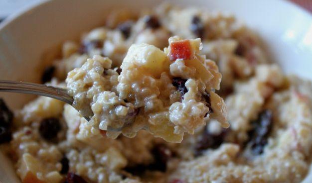 Apple cinnamon quinoa breakfast | Breakfast | Pinterest