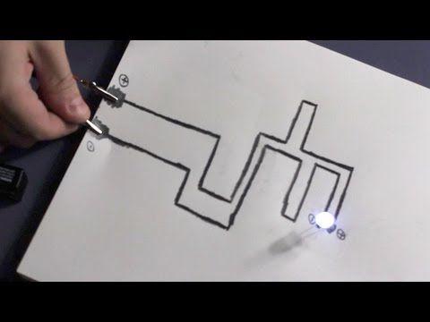 Paper Circuit! - http://www.newvistaenergy.com/home-electricity/save-on-electricity/paper-circuit/