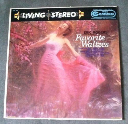 *Eric Rogers & His Orchestra - Favorite Waltzes (LP - 33 RPM)