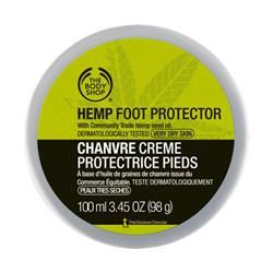 Say farewell to cracked heels and rough soles! The Hemp Foot Protector is an intensive moisturiser, specifically for the feet and is clinically proven to be suitable for very dry skin. It contains Community Fair Trade hemp seed oil, cocoa butter and beeswax and is dermatologically tested. #hemp #footprotector