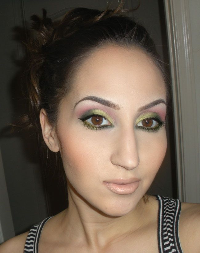 Mac eyes: Lucky Green, Bows and Curtseys, Free to Be