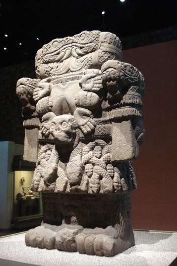 Mi diosa preferida.....La Coatlicue,Diosa de la Fecundidad  Museo de Antropologia e Historia de M