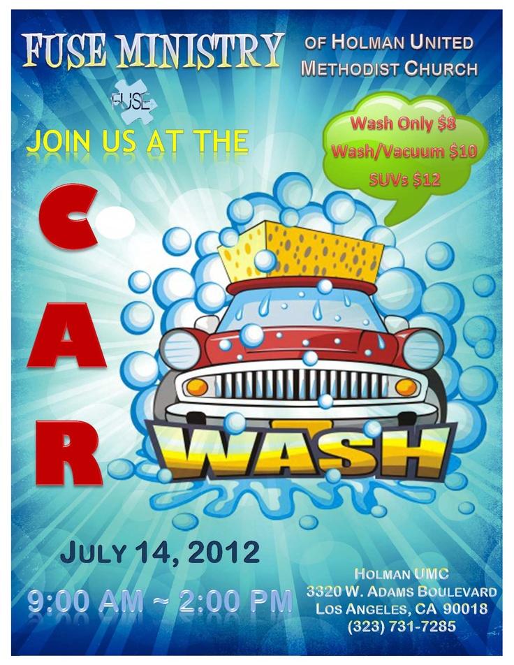 Car wash, anyone?
