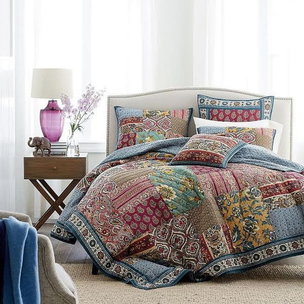 15 best Real Patchwork Quilted Coverlet Bedspread Bedding ...