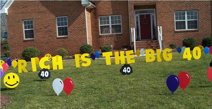 VA Lawn Greetings , VA Yard Cards, Virginia Birthday Signs
