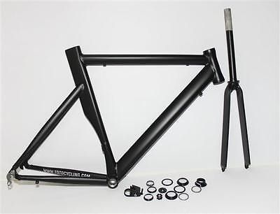 Bicycle Frames 22679: Toto Bicycle Bike Focus Matte Black Size 56 Cm Aluminum Frame Set BUY IT NOW ONLY: $139.95