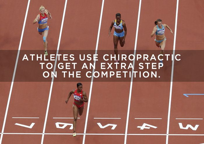 #Chiropractic is an integral part of the care that many professional athletes receive. Many Olympic athletes also take advantage of the benefits of chiropractic. Just because you aren't going to the Olympics doesn't mean that you too can't improve your health and performance with chiropractic care..http://www.atlanticchiropractor.com/article/417