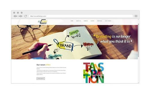 Website Design for Alchemy Corporate Communications, Delhi