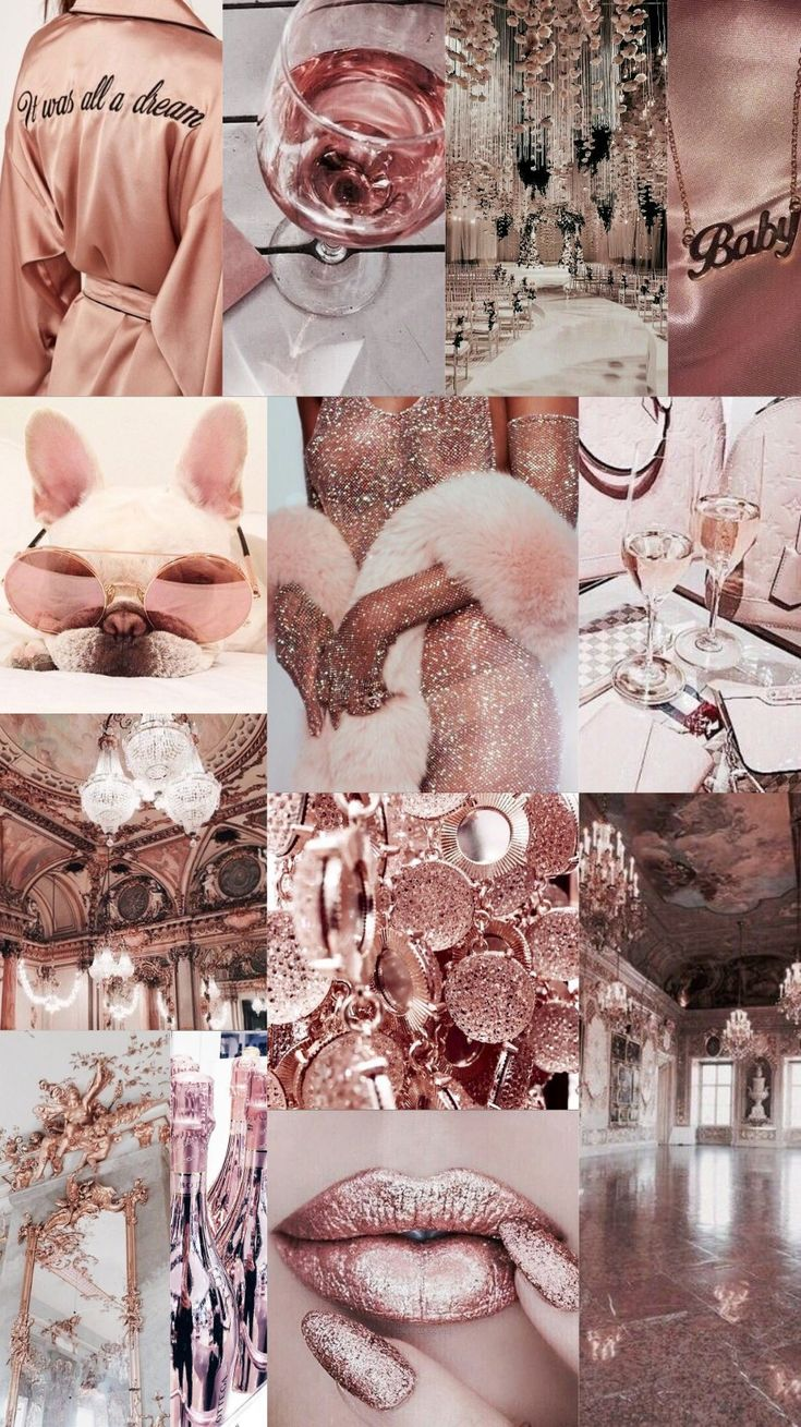 wallpaper background collage aesthetic color
