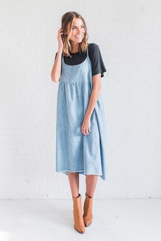 Melanie Denim Dress