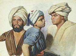 Charles Gleyre, Trois fellahs, 1835